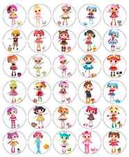 Lalaloopsy Cupcake Toppers Edible Wafer Paper BUY 2 GET 3RD FREE