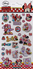 Paper Projects Small Foil Re-usable Minnie Mouse Fun Sticker