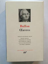 PLEIADE N°532 OEUVRES BUFFON 2007 EO COMPLET ILLUSTRE NEUF