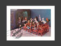 """Margarete Steiff TEDDY und VERANDTE : Friends Puppet Show 10x14"""" Art Print 1928"""