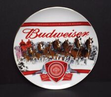 Budweiser 2011 Annual Holiday Plate