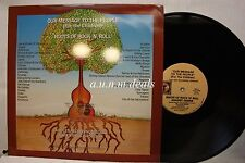 "Roots Of Rock N Roll, Our Message To The People, LP Vinyl 12""(VG)"