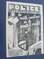 Police 1936 296 CRéGY LES MEAUX MOUEN calvados