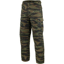 7436eff8dc8bb Mil-Tec Ranger US Army Style BDU Field Cargo Pants Camo Trousers Tiger  Stripe Medium