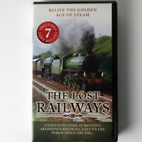 The Lost Railways (VHS, 2005 North West Video Productions) Steam Rail History