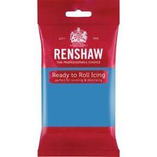 Renshaw Ready To Roll Icing Fondant Cake Regalice Sugarpaste 250g TURQUOISE