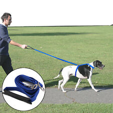 Dog Pet Harness Instant Trainer Leash lead stop pulling Anti Pull  Control dog