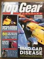 Top Gear Magazine #65 - February 1999 - BMW 535i S80 T6 Esprit Sport 350