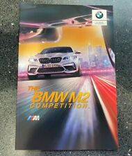 BMW F87 M2 COMP 'THE M2 COMPETITION' SHOWROOM SALES BROCHURE 3005043 APRIL 2019