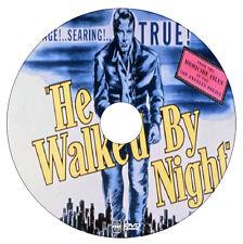 He Walked by Night - Richard Basehart - Crime, Film-Noir, Thriller - DVD - 1948