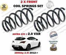 FO VAUXHALL OPEL ASTRA J GTC 2.0 VXR 280BHP 2012->NEW 2 X FRONT COIL SPRINGS SET