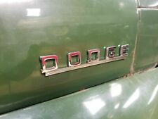 1942 1943 DODGE TRUCK NAME PLATE BRAND NEW MOPAR, B SERIES WC SERIES 1/2 TON