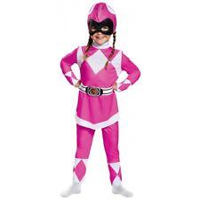 Pink Ranger Classic Costume Power Rangers Halloween Fancy Dress