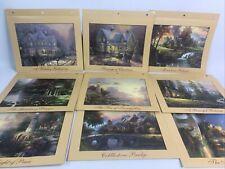 Thomas Kinkade Treasured Memories 18 Prints 2012 Bradford Exchange