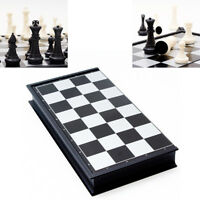 ITS- Magnetic Travel Chess Set Folding Board Parent-Child Educational Toy Game B