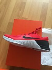 Brand New Mens NIKE METCON 2  - UK 11.5 Red And Black  (819899 601  )