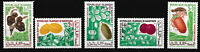 Mauretanien - Einheimische Früchte Satz postfrisch 1967 Mi. 326-330
