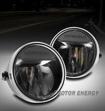 FOR 09-14 FORD F-150 F150 TRUCK LED BUMPER BLACK FOG LIGHT LAMP LEFT+RIGHT PAIR