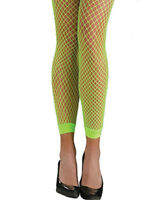 Awesome 80s Neon Fishnet Leggings One Size