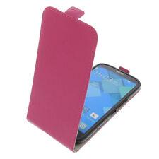 Tasche für Alcatel One Touch Pop C9 FlipStyle Schutz Hülle Flip Case Pink