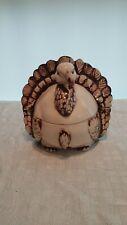 Ceramic Turkey Soup Tureen Spoon