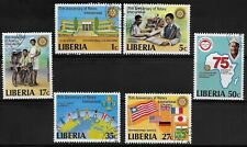 L4478 LIBERIA ROTARY INTERNATIONAL 1979 SF 1442-7