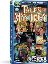 Tales of Mystery 5 Pack by Big Fish Games - Brand New & Sealed-Fast Ship! SF0011