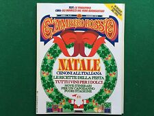 Rivista GAMBERO ROSSO n.11 del 1992 Ed Italiana NATALE RICETTE cucina/vino