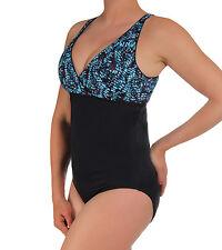 Speedo Size: 12 Granada Dots Empire Border 1pc Aquatic Fitness Women's NWT