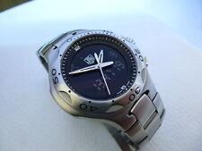 Wonderful Rare Steel TAG HEUER KIRIUM F1 Chronograph CL111A Men's dress watch!