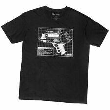 Loot Crate Exclusive Firefly Serenity Lassiter Blueprint Pistol T Shirt Xl