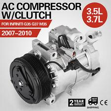 Get AC Compressor A/C Clutch For Infiniti G35 G37 M35 2007 2008 2009 2010 Free