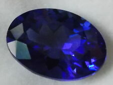 TANZANITE ZOISITE NATURAL OVAL CUT STONE - 5.17 CARATS - CERTIFIED/APPRAISED