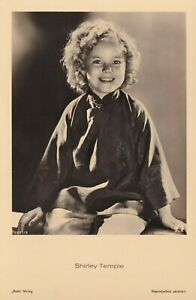Shirley Temple Antique Vintage Ross Real Photo Postcard 1930s
