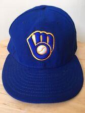 Free Ship New Era Milwaukee Brewers Baseball Cap Hat 59FIFTY