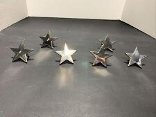 Set Of 6 Metal Star Napkin Rings