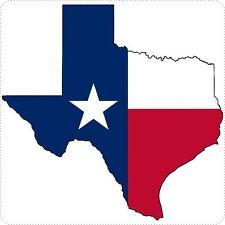 Sticker decal car bike bumper texas flag map usa united states macbook