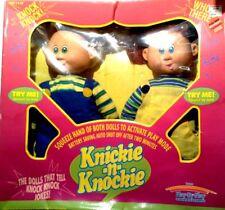 Talkin Tots~Play By Play~1999~Knickie-n-Knockie~2 Dolls~Brand New