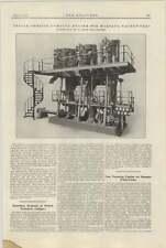 1921 motor de bombeo Margate agua funciona Corliss descripción y fotografías