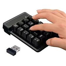 2.4G Wireless Numpad Number Pad Numeric Keypad 19Keys Keyboard for Laptop PC