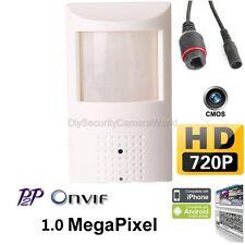 1.0Megapixel 720P Hd Mini hidden Pinhole Pir Ip Camera 3.7mm lens, Onvif, P2P