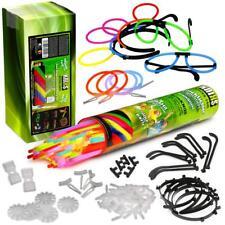 KNIXS 100 Mega Knicklichter Party Pack mit 5 Brillen 4 Ohrringe 5 Haarreifen uvm