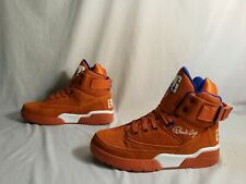 Patrick Ewing Athletics Men's 33 Hi Sneakers MW7 Orange 1EW90013-830 Size US:10