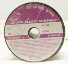 "Crown Alloys Company 4043 Alloy 3/64"" 1lb Aluminium MIG Welding Wire A5.10-92"
