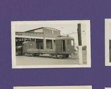 Hershey Transit Company - 1941 Flatbed Trolley #28 - Vtg B&W Railroad Photo
