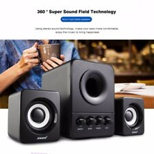 Super Bass Speaker Stereo Subwoofer HIFI Box Player For iPhone Computer Laptop