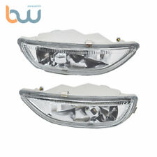 Fog Lights Clear Lens Front Driving Lamps +H3 Bulbs Fit 01-02 Toyota Corolla New