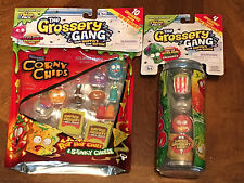 The Grossery Gang season 1  corny chips 10 pack & sticky soda 4 pack *moose toys