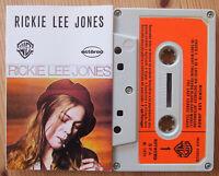 RICKIE LEE JONES (WARNER WAR 456628) 1979 PORTUGAL CASSETTE TAPE VG+ COND RARE