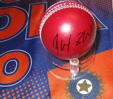 Rohit Sharma  (India) signed Red Leather Cricket Ball + COA & photo proof